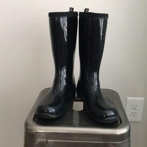 Kamik Black Heidi Rainboots